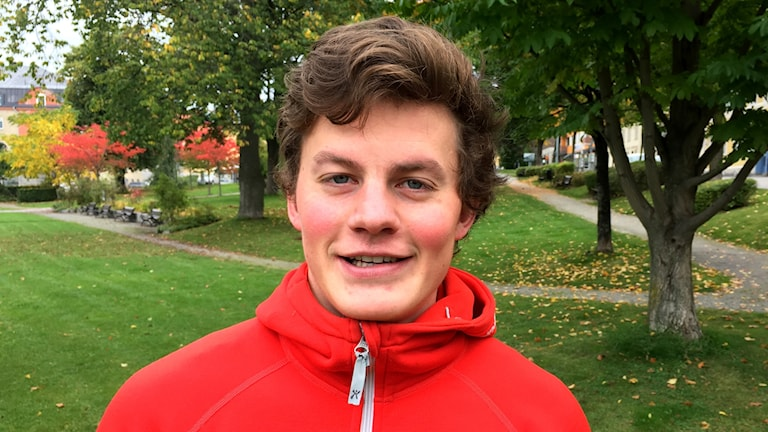 Anton Kårén, reporter P4 Västernorrland. Foto: Lennart Sundwall