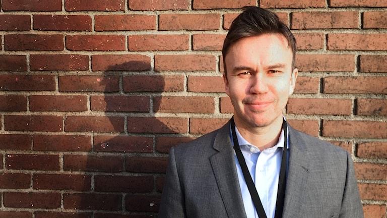 Lars Lindman på Ekobrottsmyndigheten