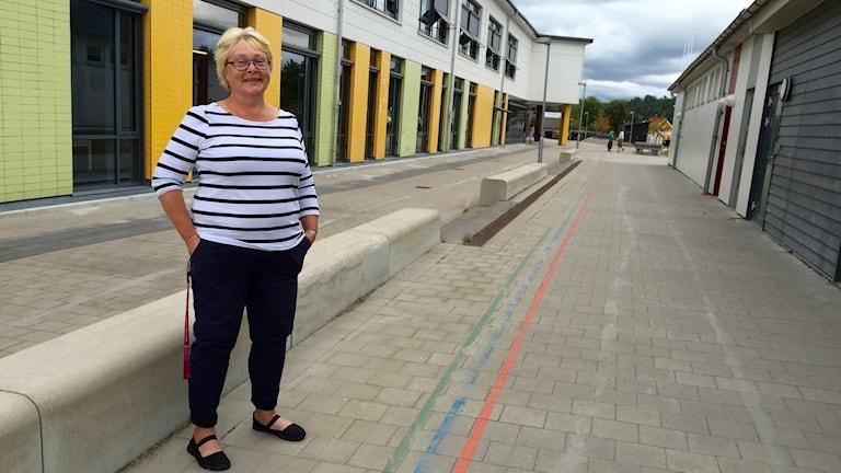 Florence Carlsson ser fram emot att skolan öppnar igen.