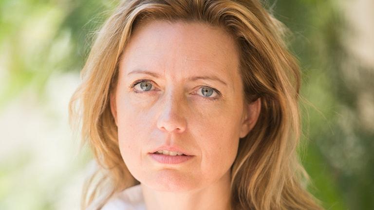 Michaela Friberg Storey, operativ chef för internationella insatser på Röda Korset