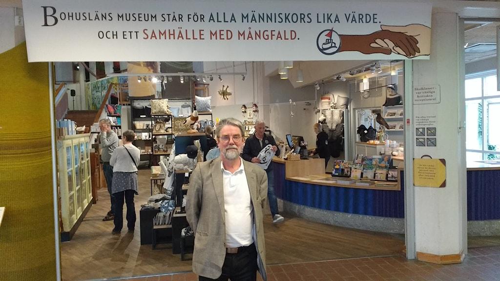 Hans Kindgren, museichef på Bohusläns museum.
