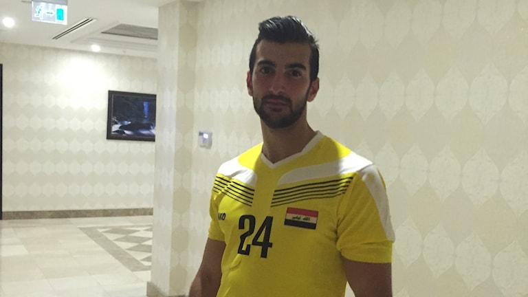 LSK-spelaren Allan Mohideen är uttagen till det irakiska fotbollslandslaget.