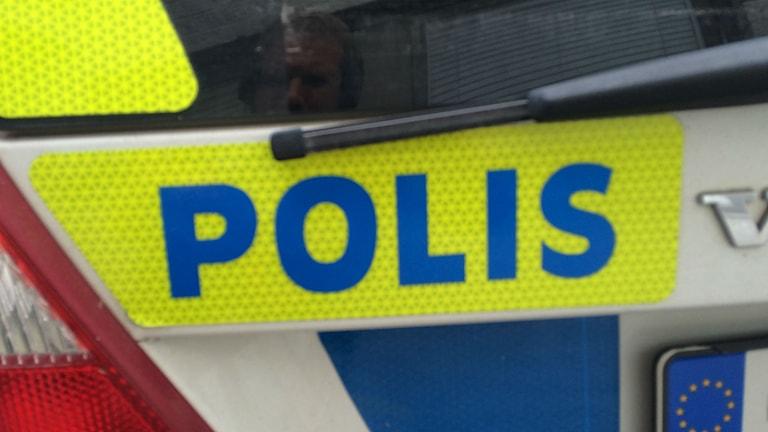 Bild på polisbild