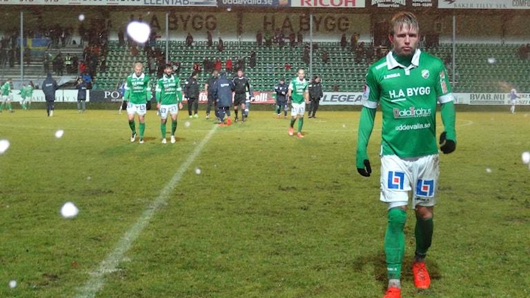 Fotboll Ljungskile lämnar plan och Superettan