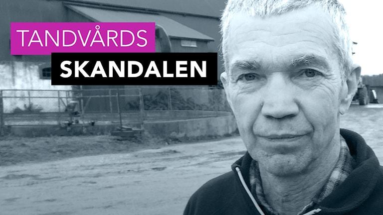 Bengt Jansson vill ha ersättning för sina tandskador. Foto: Richard Veldre/Sveriges Radio