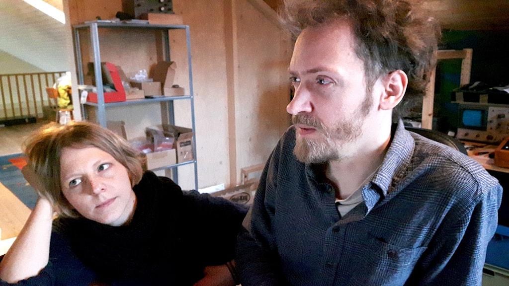 Ljudkonstnärer Gerlesborg Jonathan Liljedahl Frida Klingberg
