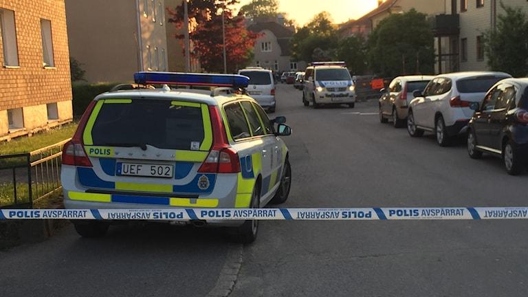 Stor polisinsats i Vänersborg