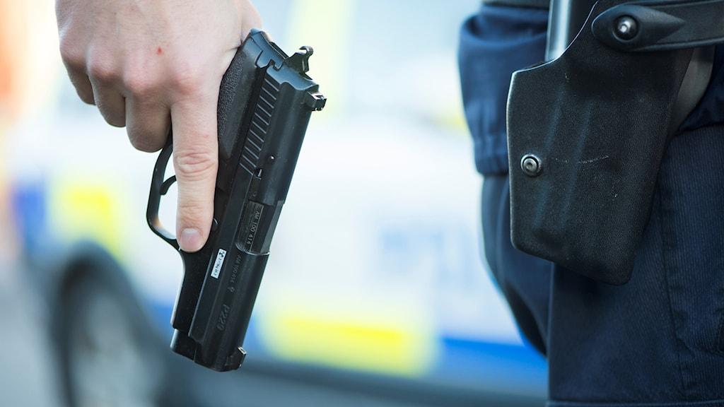 Polisens tjänstevapen