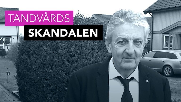 Tandvårdsskandalen. Jan Berglöv. Foto: Richard Veldre/Sveriges Radio