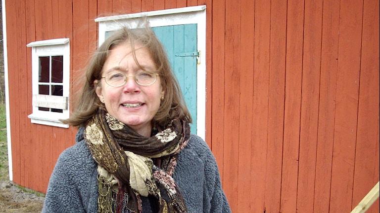 Maria Roos. Foto: Jan Gustafsson/SR Väst