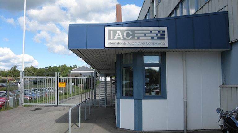 IAC-fabriken i Färgelanda. Foto: Evelina Myrbäck/SR Väst