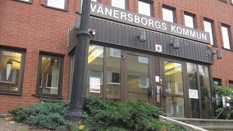 Vänersborgs kommunhus. Foto: Emil Björklund/SR Väst.