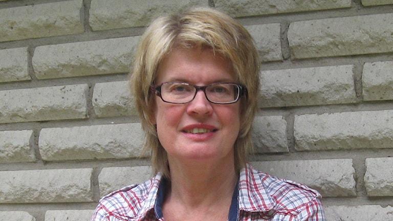 Monica Selin (KD). Foto: Bosse Adriansson/P4 Väst.