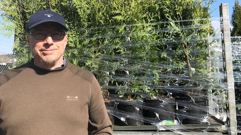 Per Lernebratt bytte datavärlden mot plantor