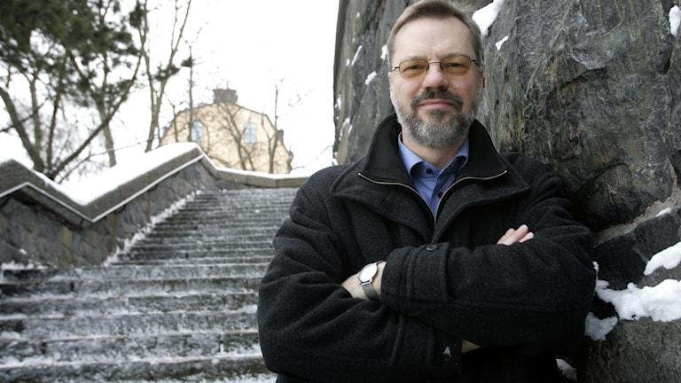 Svante Weyler, tidigare Sveriges Radions korrespondent i Berlin.