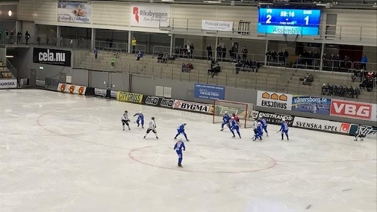 Bild på IFK Vänersborg på isen
