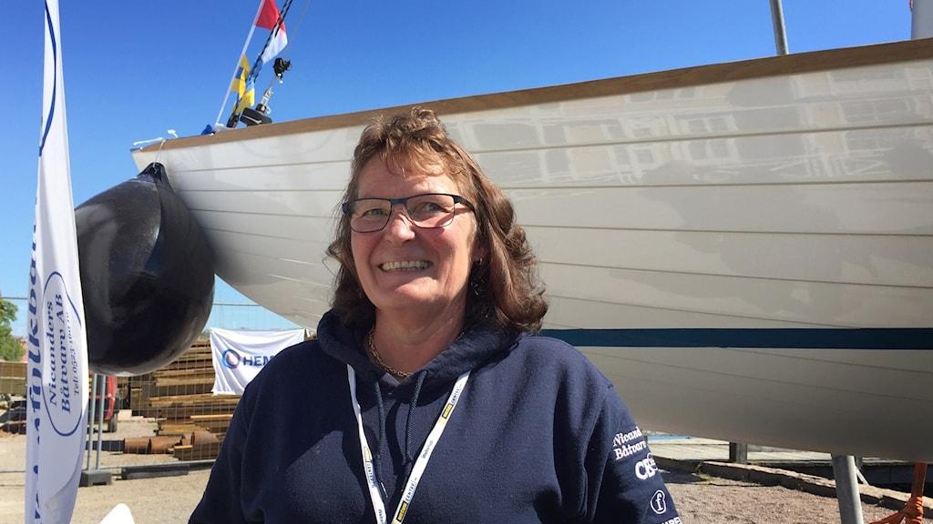 Christina Nicander, medarrangör av Lysekils båtmässa Båt & hav.