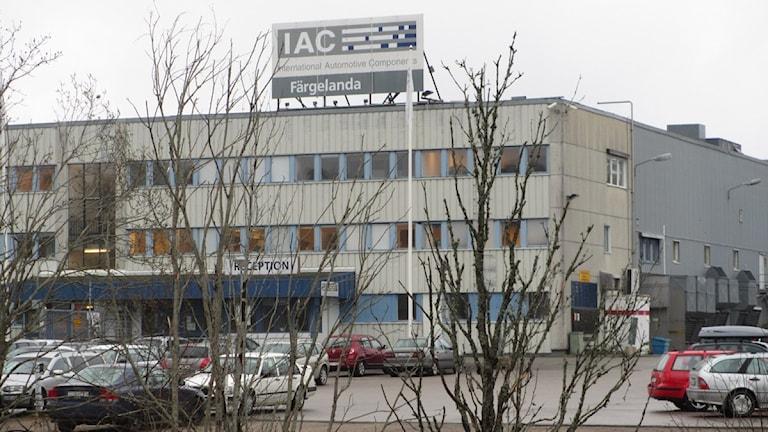 IAC i Färgelanda. Foto: Marie Mattsson/P4 Väst