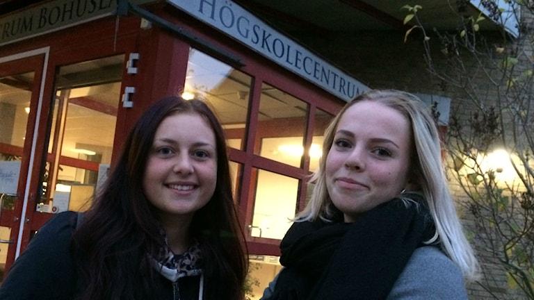Bild på Cornelia König och Klara Villebeck