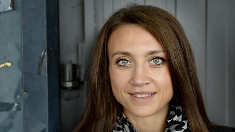 Camilla Läckberg engagerar sig i Barncancerfonden. Foto: Jessica Gow/Scanpix