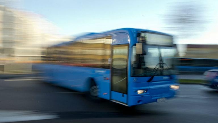 Bild på buss