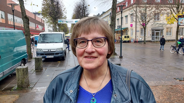 Maj-Britt Elmvik från Trollhättan.