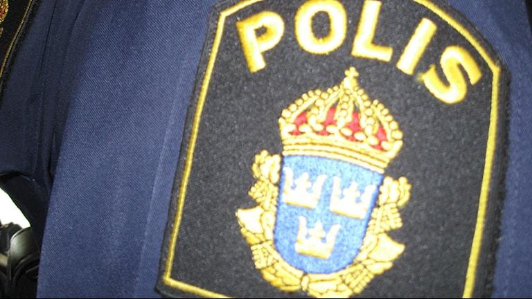 Bild på polismärke