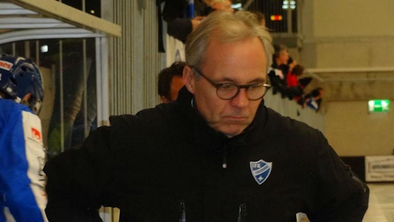 IFK Vänersborgs tränare Stefan Karlsson. Foto: Bengt Israelsson SR/Väst