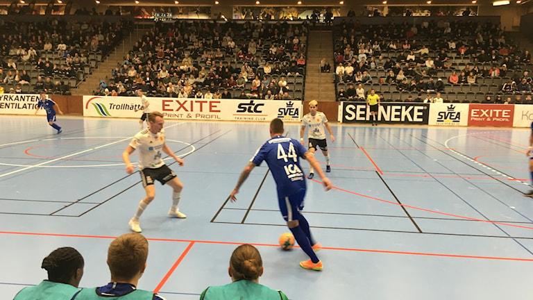 Futsal-derby mellan Skoftebyn och IFK Uddevalla