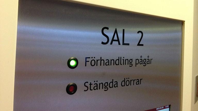 Vänersborgs Tingsrätt. Foto: Andreas Hanson/P4 Väst