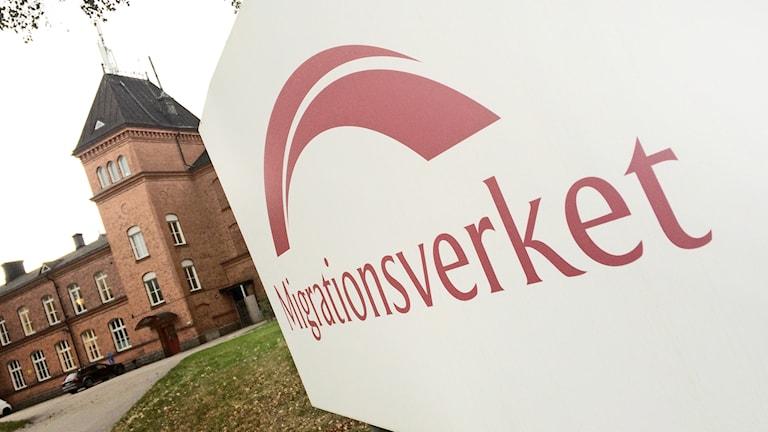 Bild på migrationsverkets byggnad i Vänersborg. Foto: Peter Olsson/ Sveriges Radio P4 Väst