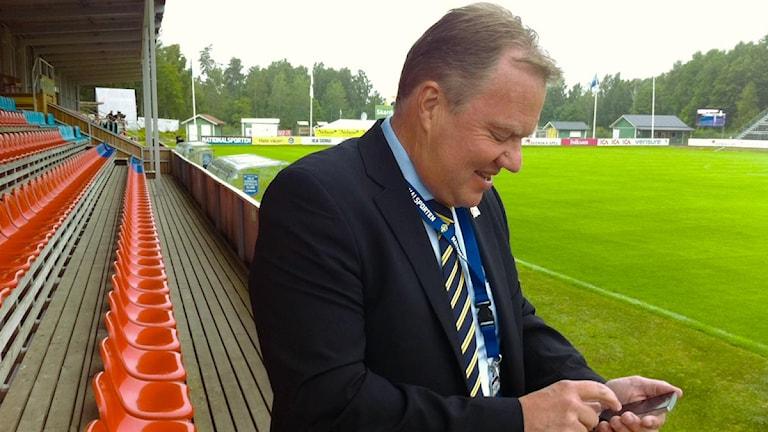 Karl-Erik Nilsson. Bild: Marie Mattsson/P4 Väst Sveriges Radio