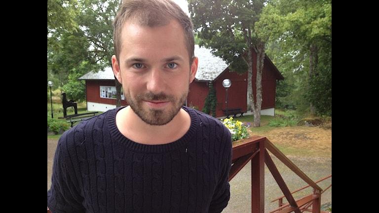 Daniel Poohl. Foto: Marcus Gorne/Sveriges Radio