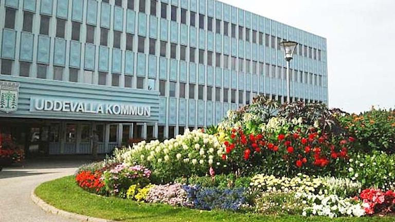 Stadshuset i Uddevalla. Foto: Cecilia Bergil/Sveriges Radio