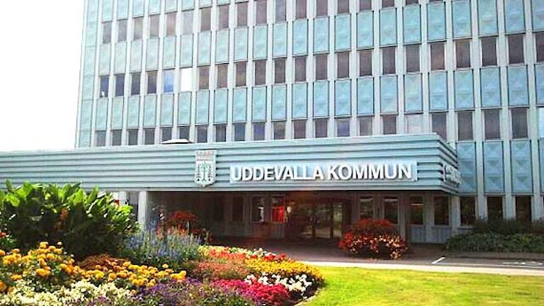 Uddevallas stadshus. Foto: Cecilia Bergil/Sveriges Radio