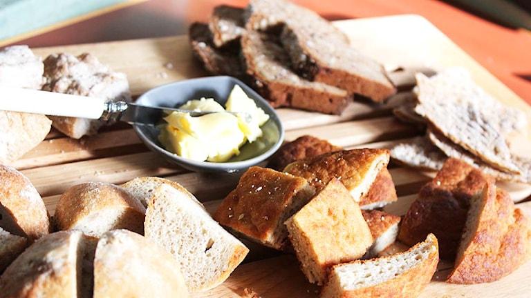 Glutenfritt bröd. Foto: Susanna Wictorzon/Sveriges Radio