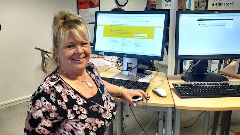 Carina Nicander-Olsson, sektionschef på Skatteverket i Uddevalla