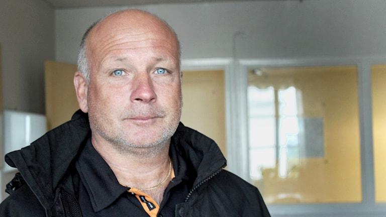 Peter Hilton. Foto: Filippa Bohlin/ Sveriges Radio
