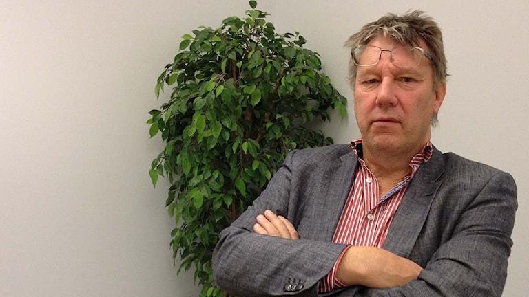 Överläkare Per Persson. Foto: Oskar Lodin/Sveriges Radio
