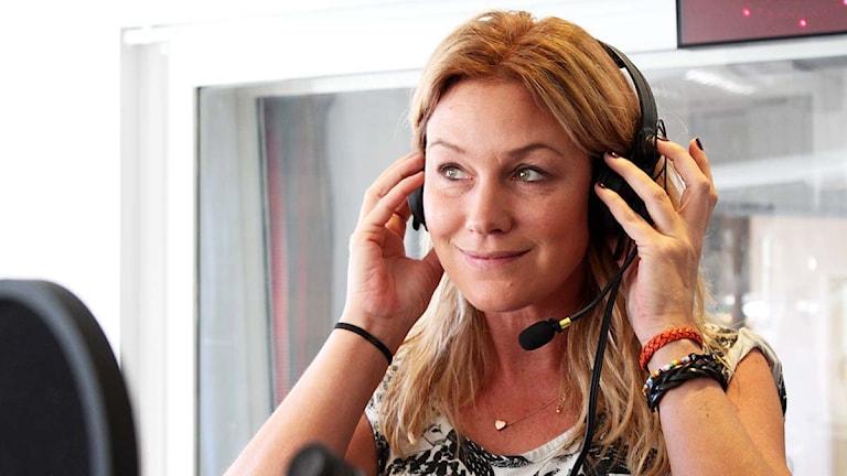 Jessica Andersson. Foto: Susanna Wictorzon/Sveriges Radio.
