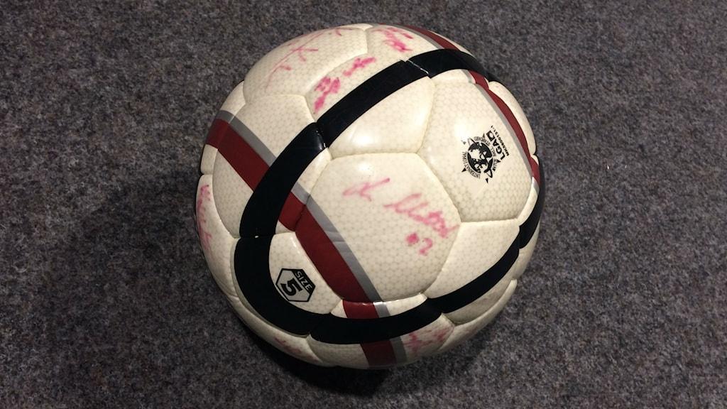 Bild på fotboll