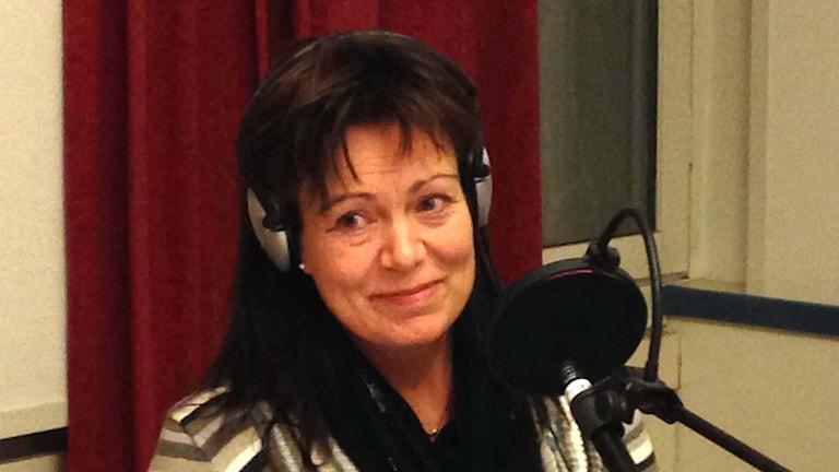 Ann-Sofie Alm (M). Foto: Susanna Wictorzon/Sveriges Radio.