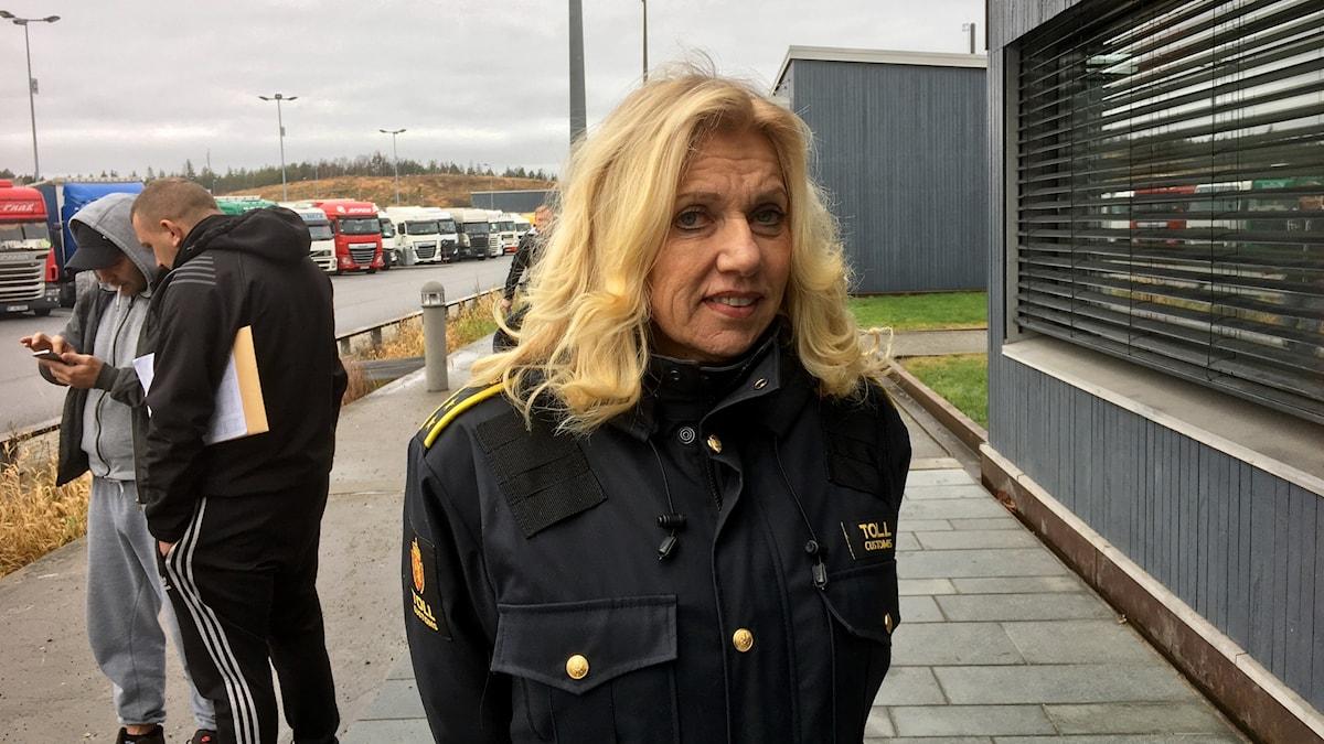 Wenche Fredriksen, chef för tullen i Svinesund