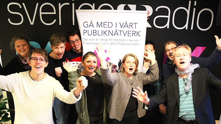 Personal på P4 Väst. Foto: Susanna Wictorzon/Sveriges Radio.