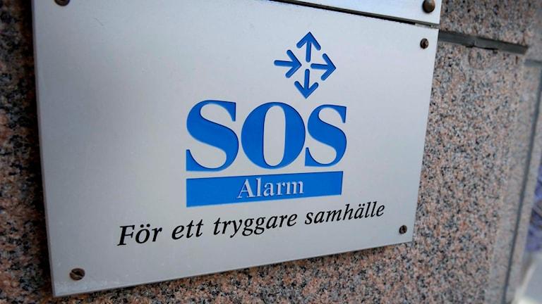 SOS Alarm. Foto: Janerik Henriksson/TT.