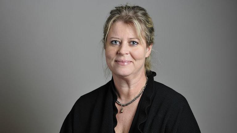 Moderata riksdagsledamoten Camilla Waltersson Grönvall. Foto: Henrik Montgomery/TT