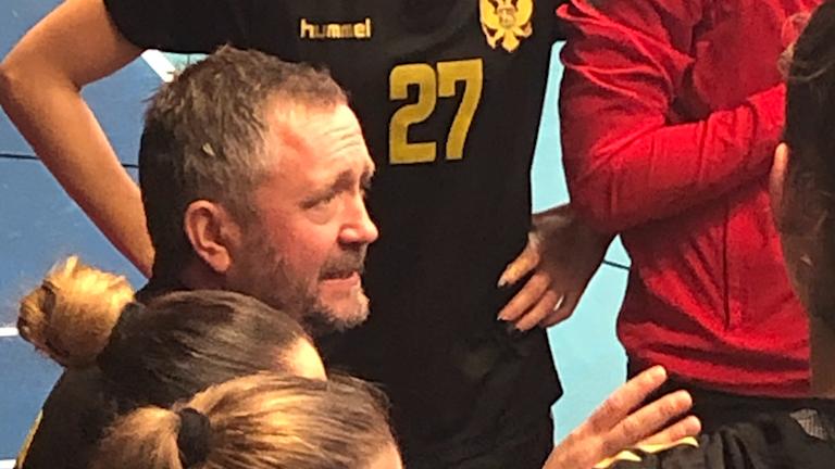 Montenegros förbundskapten Per Johansson