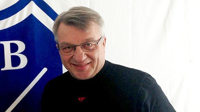 Stig Bertilsson. Foto: Victor Jensen/Sveriges Radio.