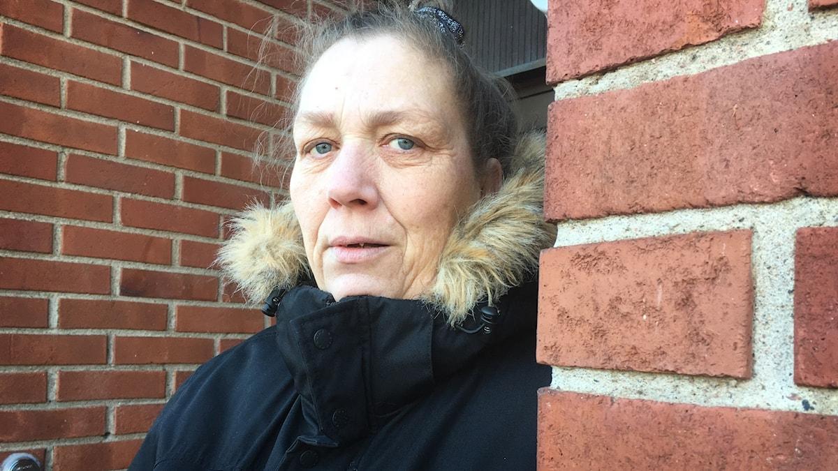 Annika Doverhäll bor på Kronogården och blev vittne till polisingripandet