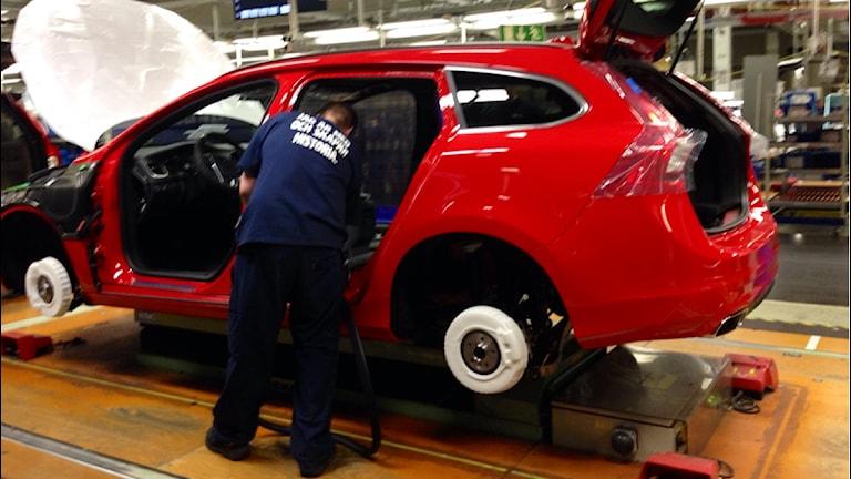 Volvos fabrik i Torslanda fyller 50 år.